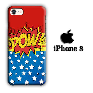 Doodle Pow Star iPhone 8 3D coque custodia fundas - Coque Iphone 11√coque samsung S8+√coque huawei P30 roccoscope.fr
