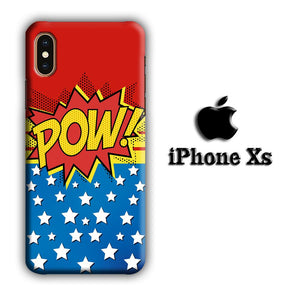 Doodle Pow Star iPhone Xs 3D coque custodia fundas - Coque Iphone 11√coque samsung S8+√coque huawei P30 roccoscope.fr