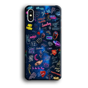 Doodle Space Every Where iPhone X 3D coque custodia fundas - Coque Iphone 11√coque samsung S8+√coque huawei P30 roccoscope.fr