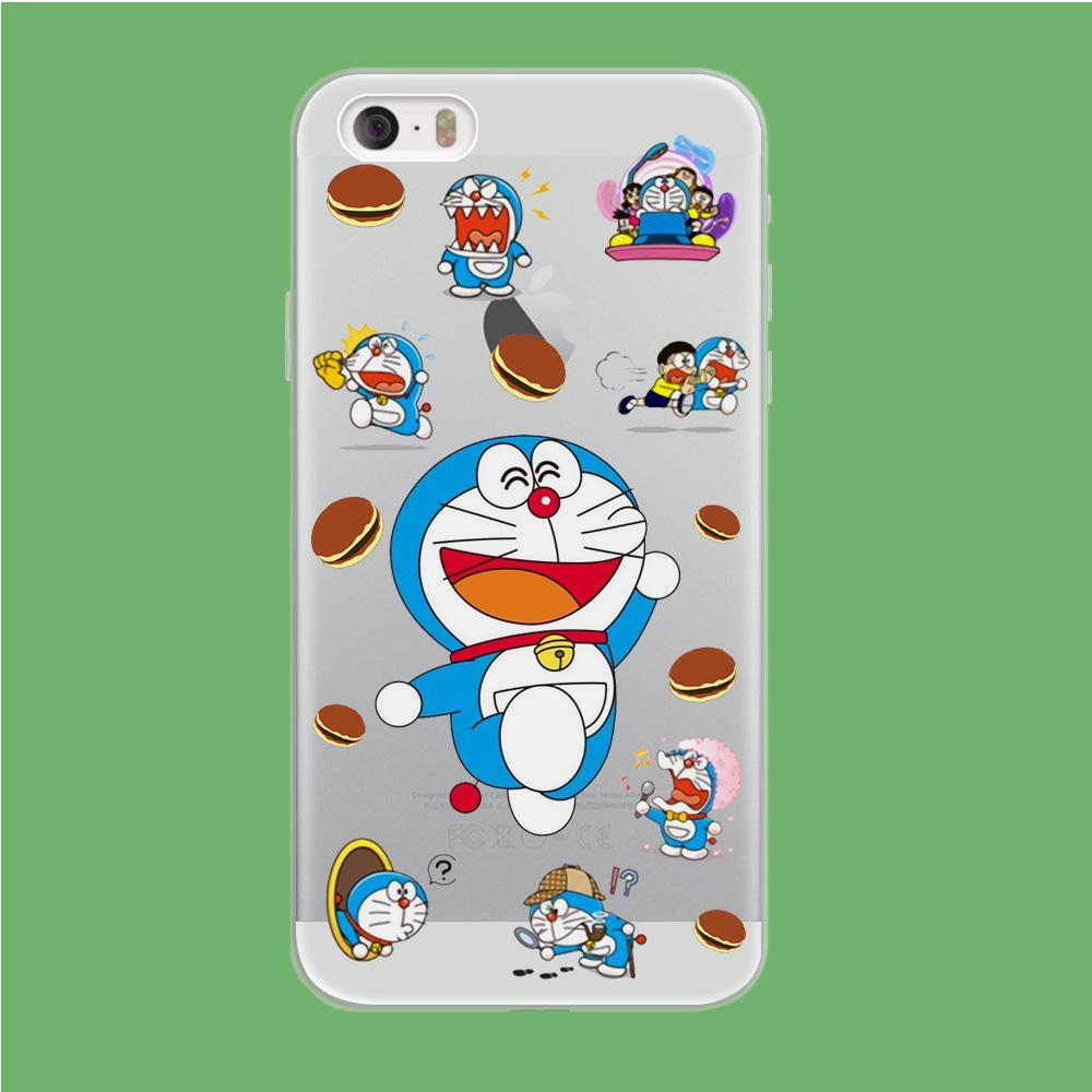 Doraemon Delight coque iPhone 5 | 5s Clear - Coque Iphone 11√coque samsung S8+√coque huawei P30 roccoscope.fr