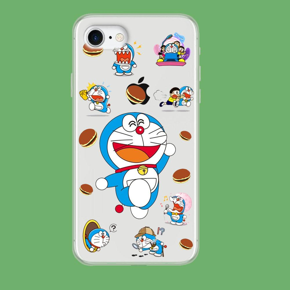 Doraemon Delight coque iPhone 8 Clear - Coque Iphone 11√coque samsung S8+√coque huawei P30 roccoscope.fr