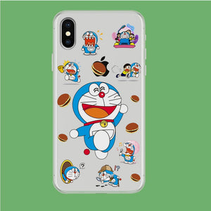 Doraemon Delight iPhone X Clear coque custodia fundas - Coque Iphone 11√coque samsung S8+√coque huawei P30 roccoscope.fr