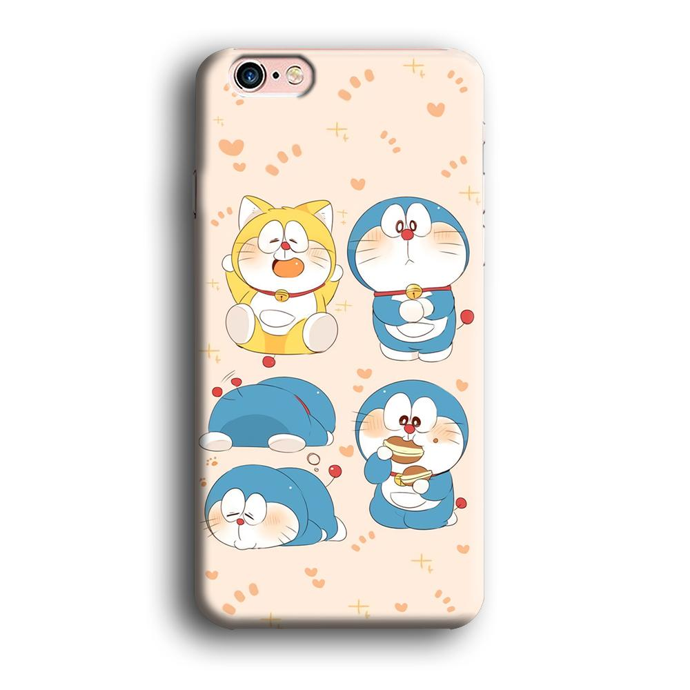 Doraemon Lazy Time iPhone 6 | 6s 3D coque custodia fundas - Coque Iphone 11√coque samsung S8+√coque huawei P30 roccoscope.fr