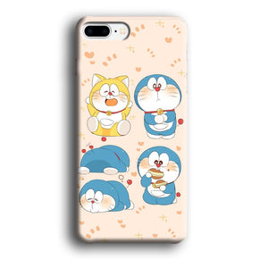 Doraemon Lazy Time iPhone 7 Plus 3D coque custodia fundas - Coque Iphone 11√coque samsung S8+√coque huawei P30 roccoscope.fr