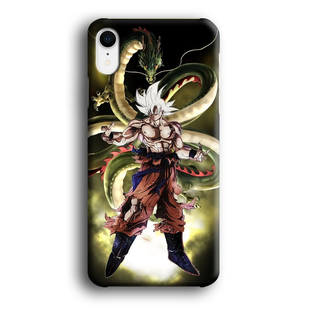 Dragon Ball New Form iPhone XR 3D coque custodia fundas