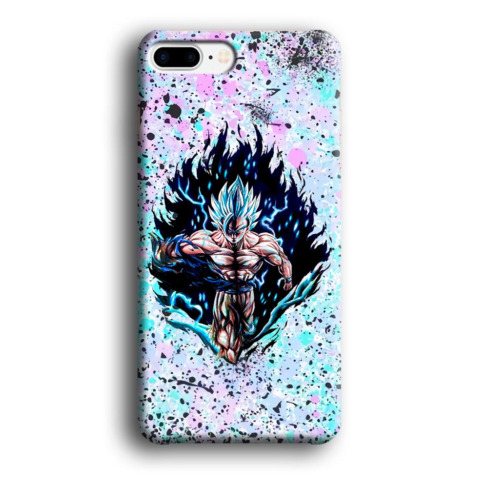 Dragon Ball The Great Power iPhone 7 Plus 3D coque custodia fundas