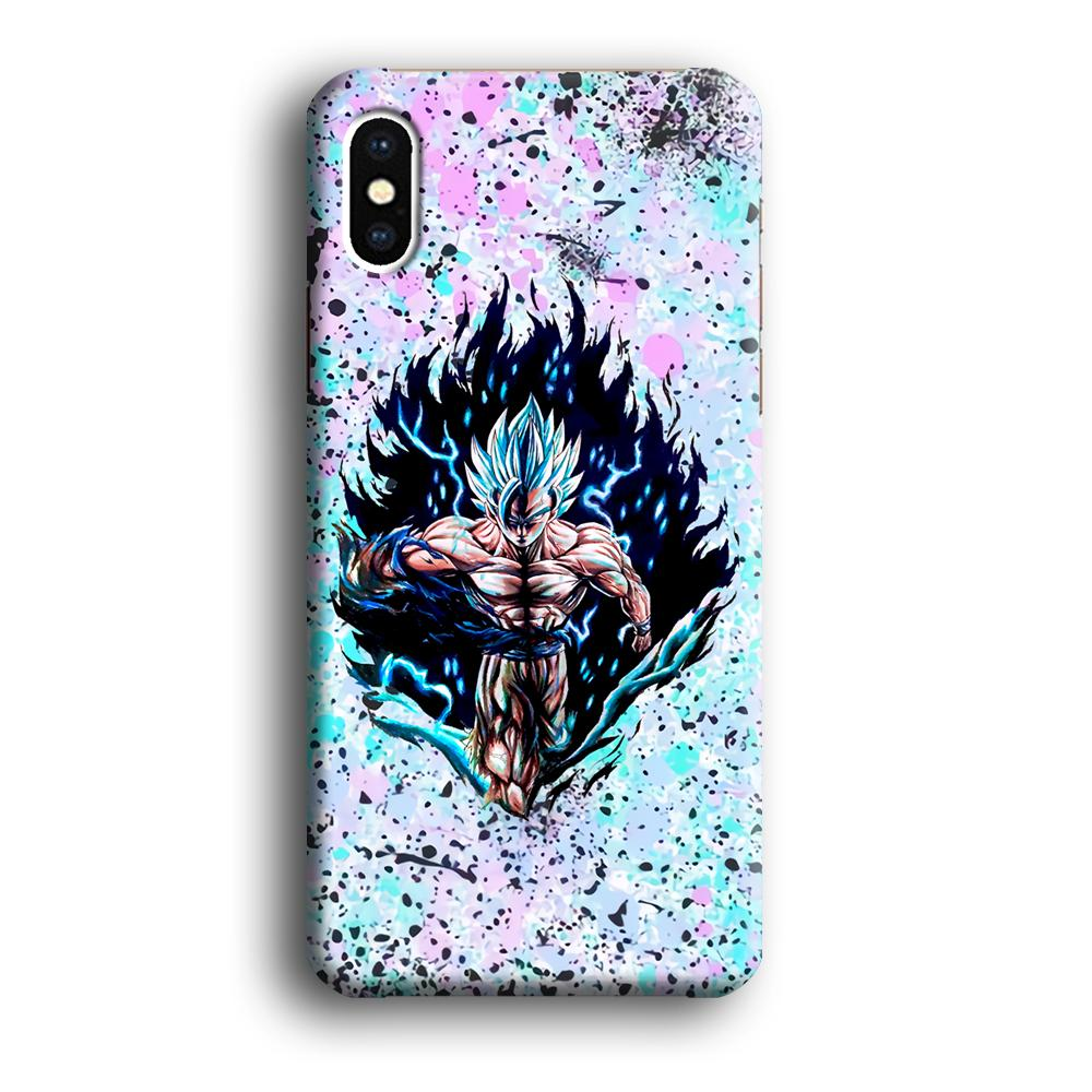 Dragon Ball The Great Power iPhone X 3D coque custodia fundas