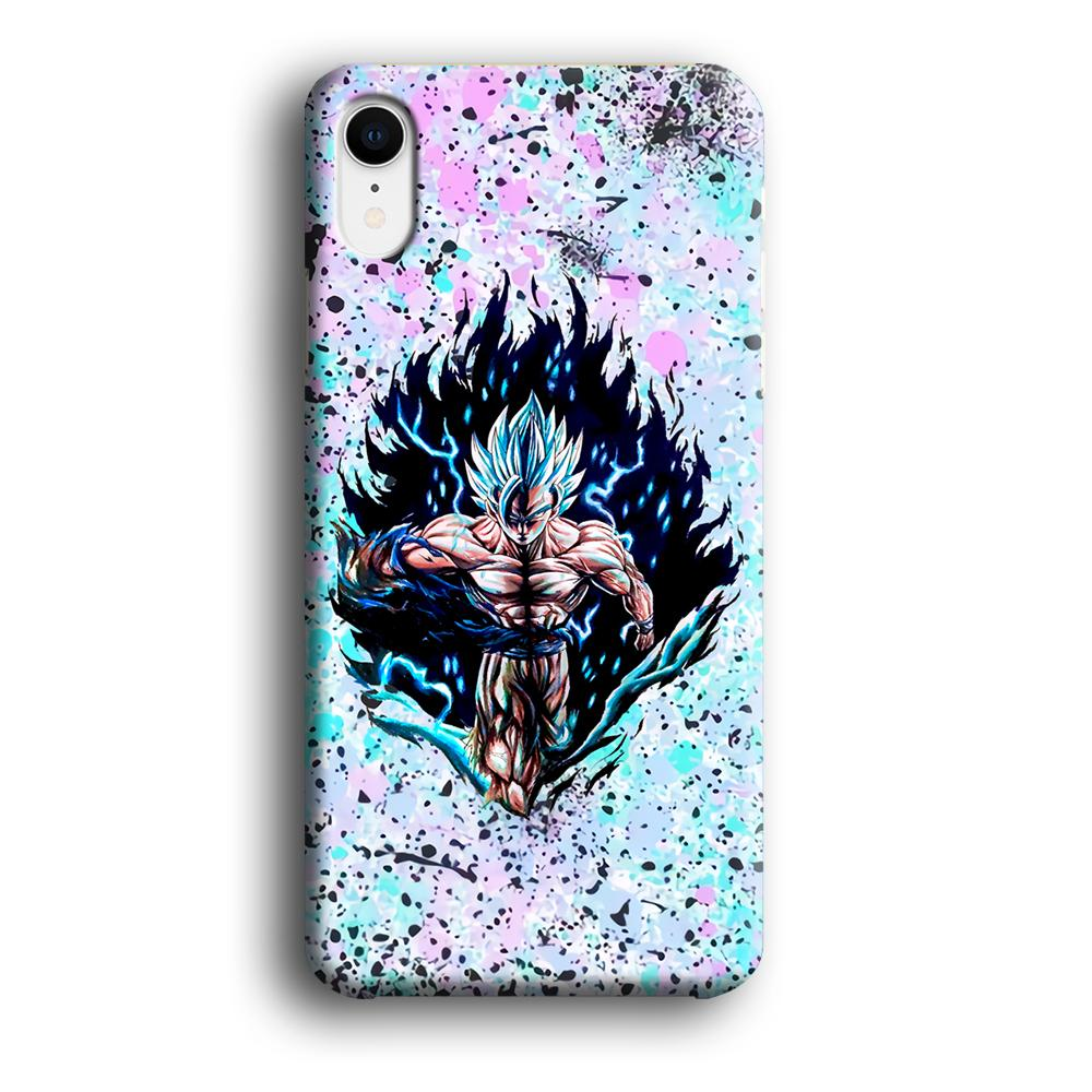 Dragon Ball The Great Power iPhone XR 3D coque custodia fundas