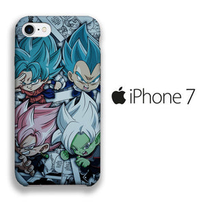 Dragon Ball Z Collage iPhone 7 3D coque custodia fundas