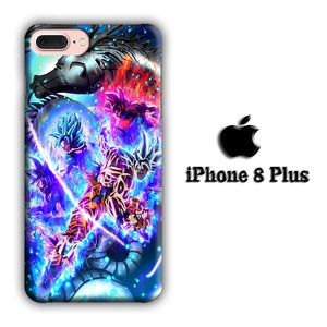 Dragon Ball Z Energize The Dragon iPhone 8 Plus 3D coque custodia fundas