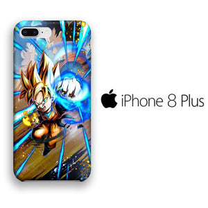 Dragon Ball Z First Super Saiyan iPhone 8 Plus 3D coque custodia fundas