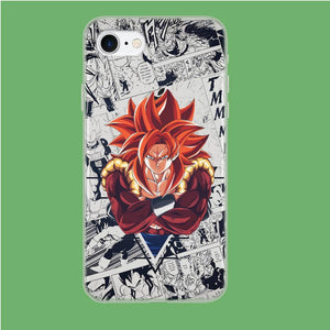 Dragon Ball Z Fusion of Super Saiya 4 coque iPhone 7 Clear