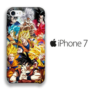 Dragon Ball Z Goku Phase iPhone 7 3D coque custodia fundas