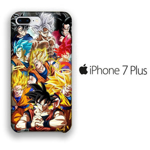 Dragon Ball Z Goku Phase iPhone 7 Plus 3D coque custodia fundas