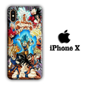 Dragon Ball Z Strength and Confidence iPhone X 3D coque custodia fundas