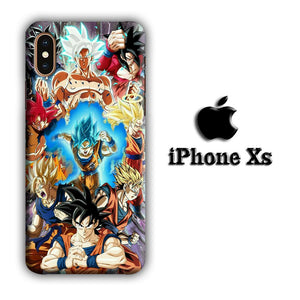 Dragon Ball Z Strength and Confidence iPhone Xs 3D coque custodia fundas