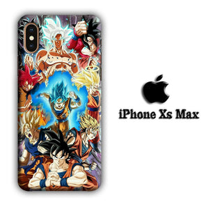 Dragon Ball Z Strength and Confidence iPhone Xs Max 3D coque custodia fundas