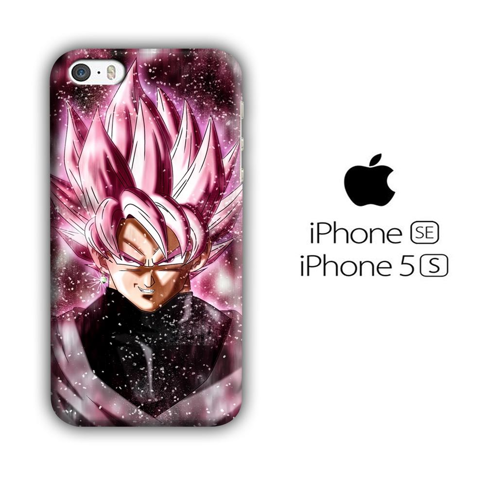 Dragon Ball Z Super Saiyan Rose Close Up iPhone 5 | 5s 3D coque custodia fundas