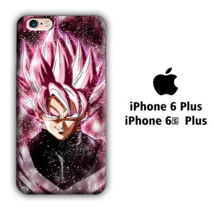 Dragon Ball Z Super Saiyan Rose Close Up iPhone 6 Plus | 6s Plus 3D coque custodia fundas