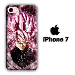 Dragon Ball Z Super Saiyan Rose Close Up iPhone 7 3D coque custodia fundas
