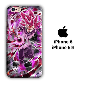 Dragon Ball Z Super Saiyan Rose iPhone 6 | 6s 3D coque custodia fundas
