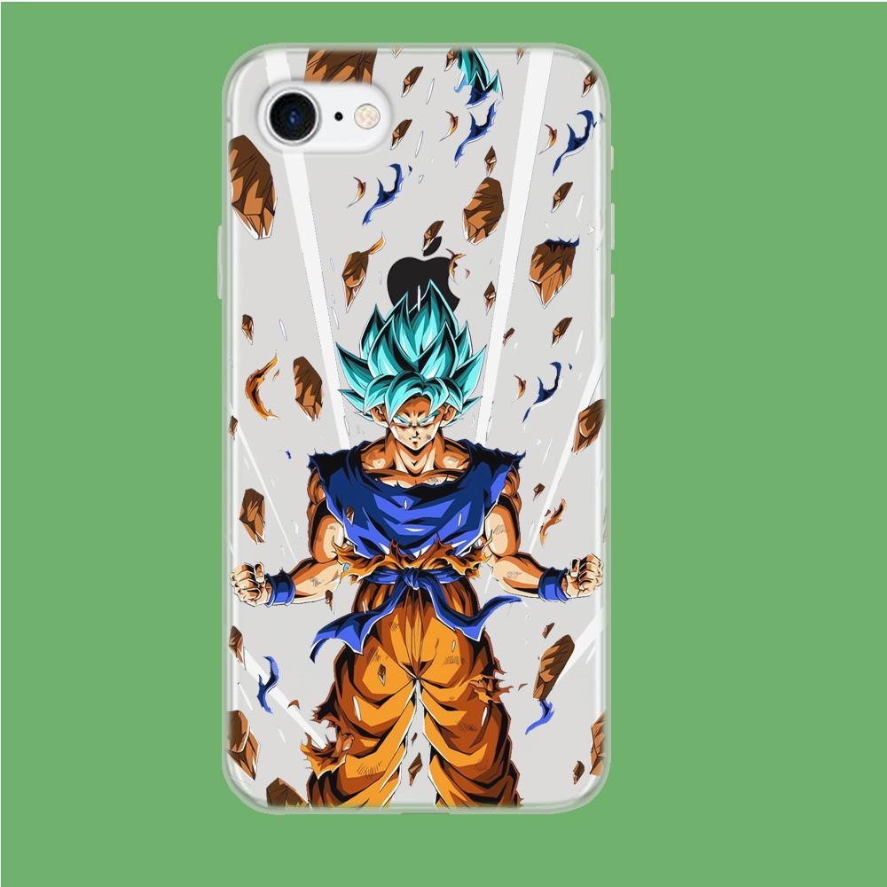Dragon Ball Z Super Vegeta coque iPhone 7 Clear