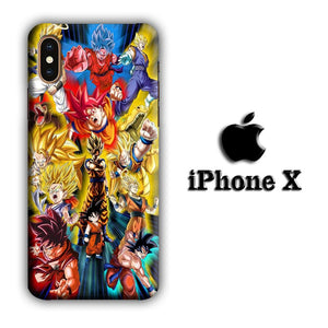 Dragon Ball Z The Power iPhone X 3D coque custodia fundas