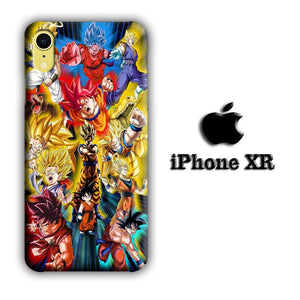 Dragon Ball Z The Power iPhone XR 3D coque custodia fundas