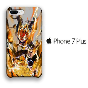Dragon Ball Z Vegeta Fight iPhone 7 Plus 3D coque custodia fundas