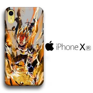 Dragon Ball Z Vegeta Fight iPhone XR 3D coque custodia fundas