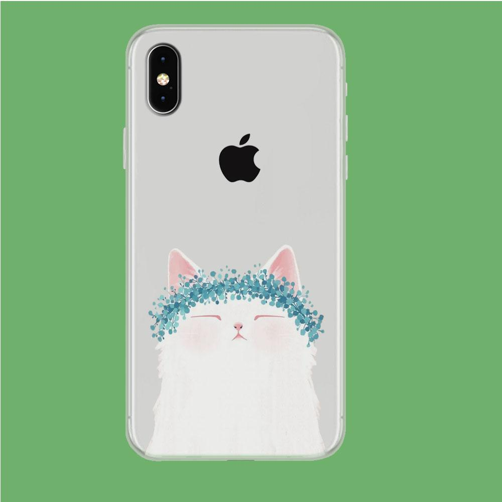 Dreaming in Sunday iPhone Xs Max Clear coque custodia fundas