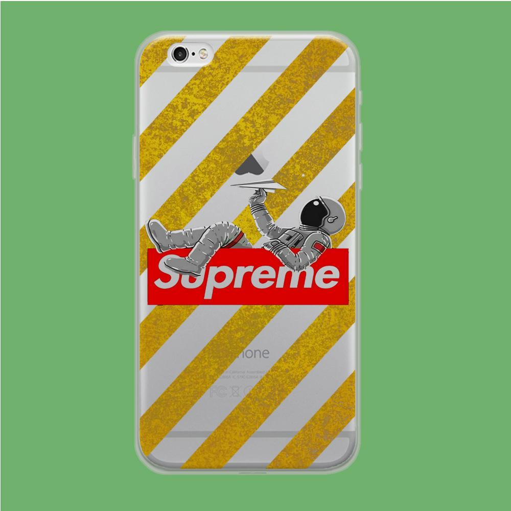 Enjoy Supreme Space coque iPhone 6 | iPhone 6s Clear