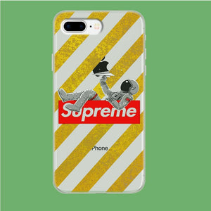 Enjoy Supreme Space iPhone 8 Plus Clear coque custodia fundas