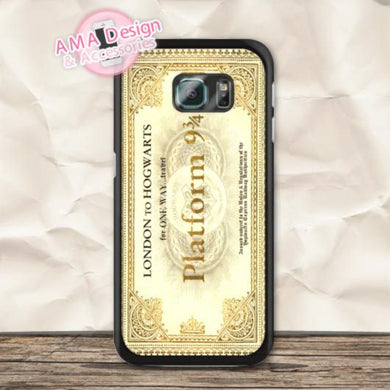 Harry Potter Hogwarts Express Platform 9 3/4 Ticket coque pour Samsung  Galaxy S4 mini
