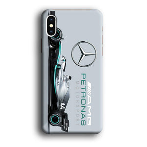 F1 AMG Petronas Hamilton iPhone Xs 3D coque custodia fundas