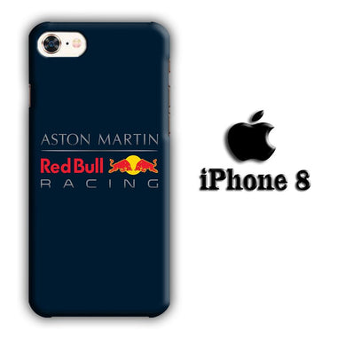F1 Aston Martin Redbull iPhone 8 3D coque custodia fundas