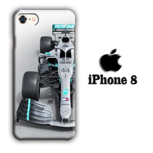 F1 Hamilton's Soul iPhone 8 3D coque custodia fundas