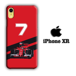 F1 Kimi Raikkonen iPhone XR 3D coque custodia fundas