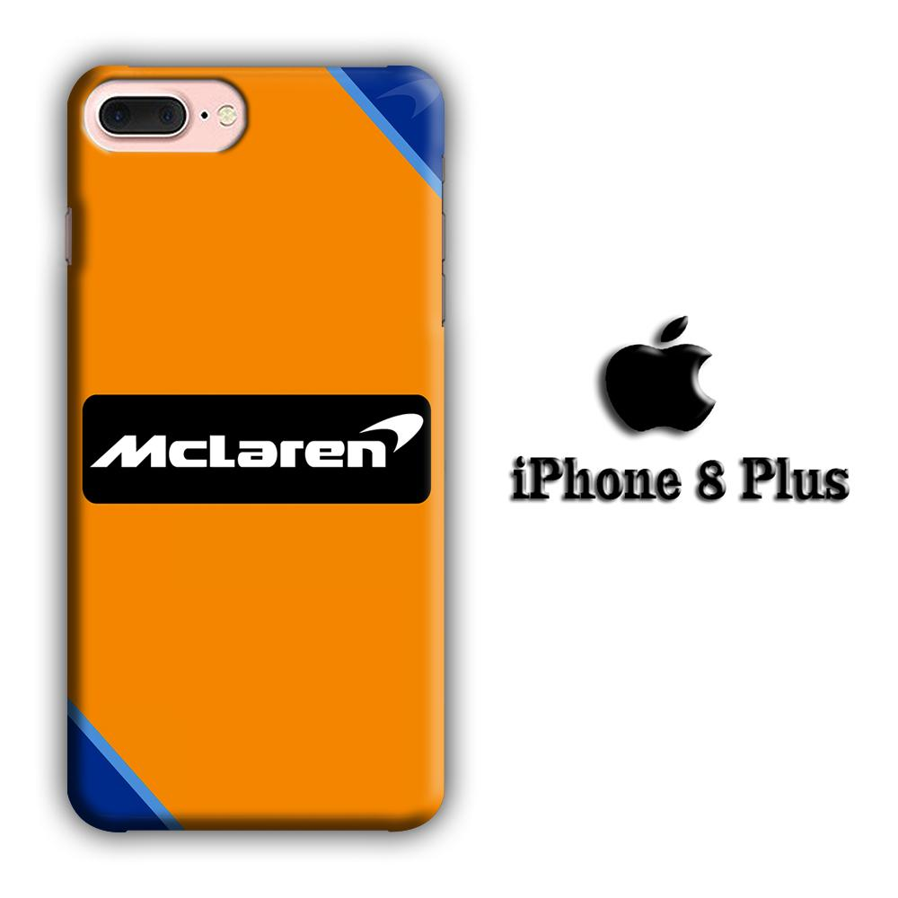 F1 Mclaren Race Fighter iPhone 8 Plus 3D coque custodia fundas