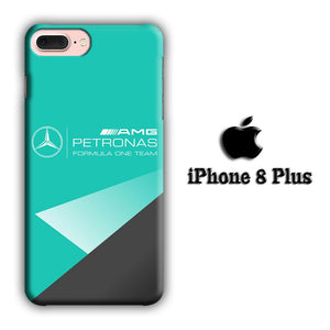 F1 Mercy Petronas AMG iPhone 8 Plus 3D coque custodia fundas