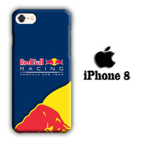 F1 Redbull Racing Team iPhone 8 3D coque custodia fundas