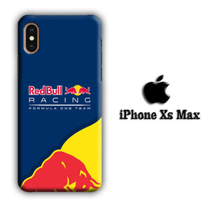 F1 Redbull Racing Team iPhone Xs Max 3D coque custodia fundas