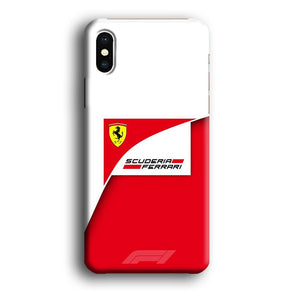 F1 Scuderia Ferrari iPhone Xs Max 3D coque custodia fundas