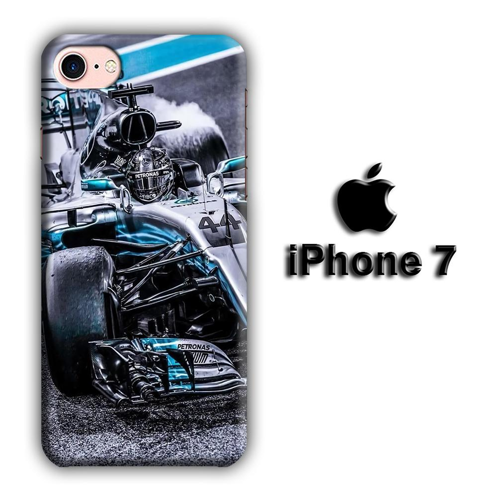 F1 Sharp Turn iPhone 7 3D coque custodia fundas