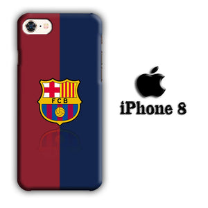 FC Barcelona 08-09 iPhone 8 3D coque custodia fundas