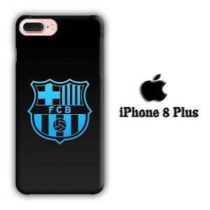 FC Barcelona Glowing Star iPhone 8 Plus 3D coque custodia fundas