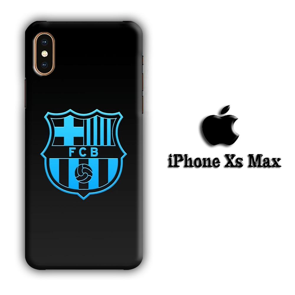 FC Barcelona Glowing Star iPhone Xs Max 3D coque custodia fundas