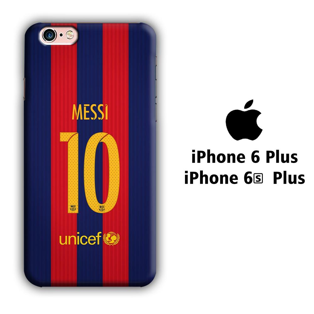 FC Barcelona La Pulga iPhone 6 Plus | 6s Plus 3D coque custodia fundas