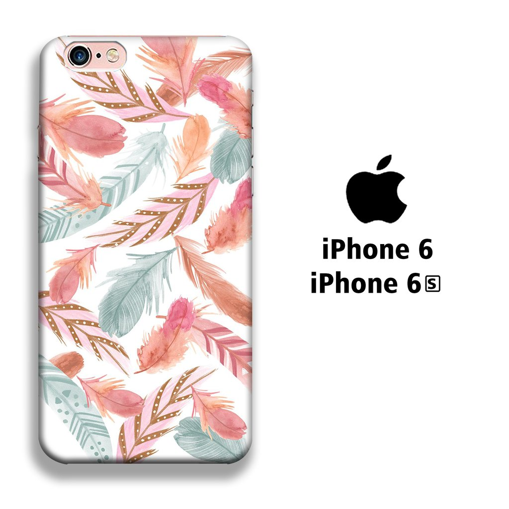 Feather Colour iPhone 6 | 6s 3D coque custodia fundas