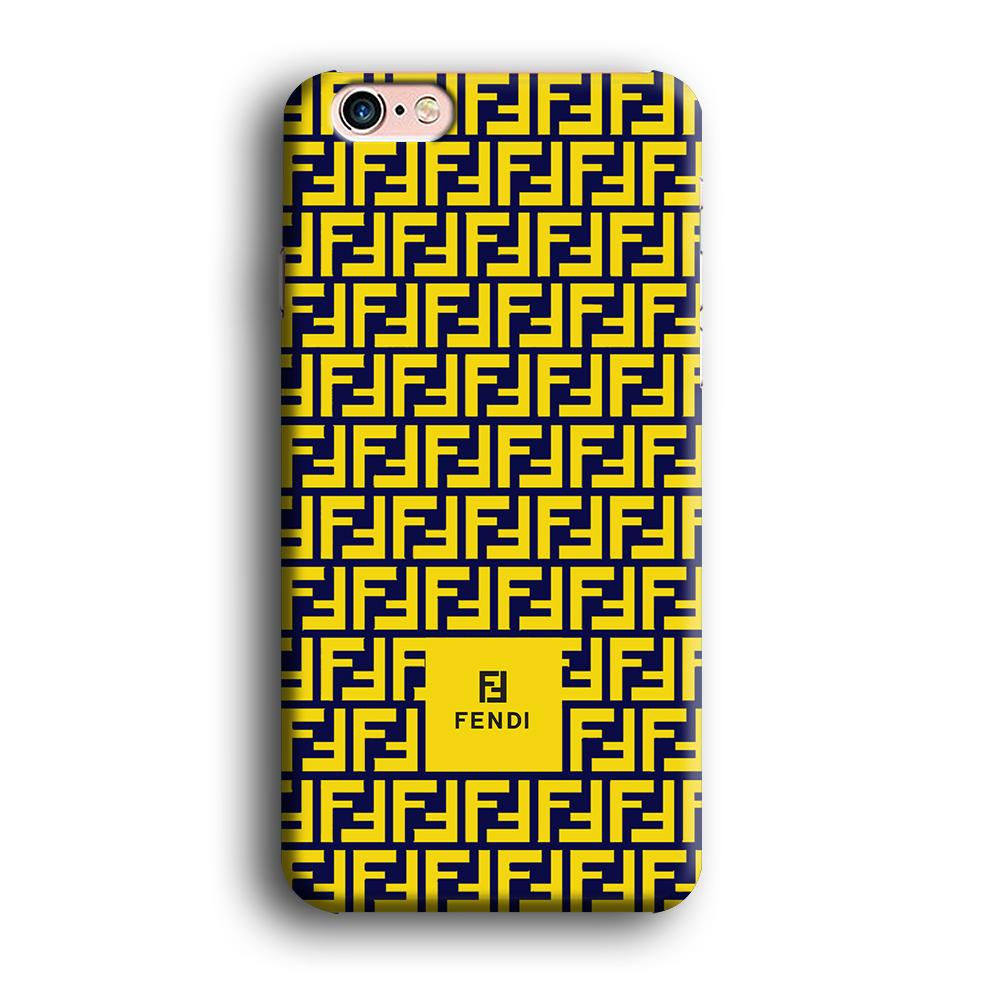 Fendi Box Scheme iPhone 6 Plus | 6s Plus 3D coque custodia fundas